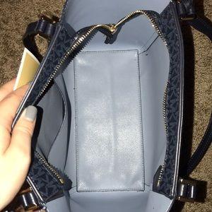 MK blue tote bag